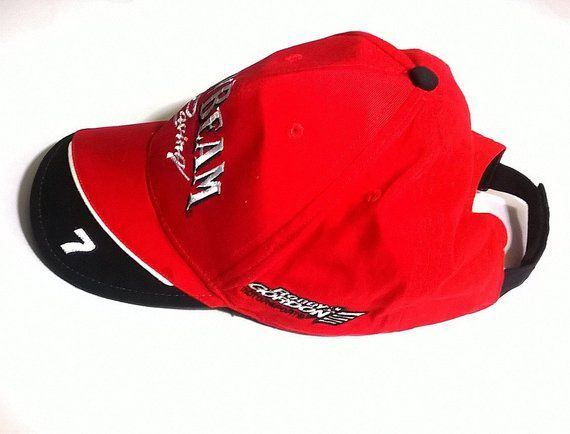 a437929a Vintage Jim Beam Racing Robby Gordon #7 Baseball Cap / NASCAR Motorsports  Hat with Adjustable Strap