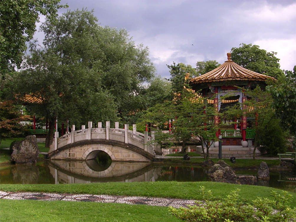 China Garden In Zurich Switzerland