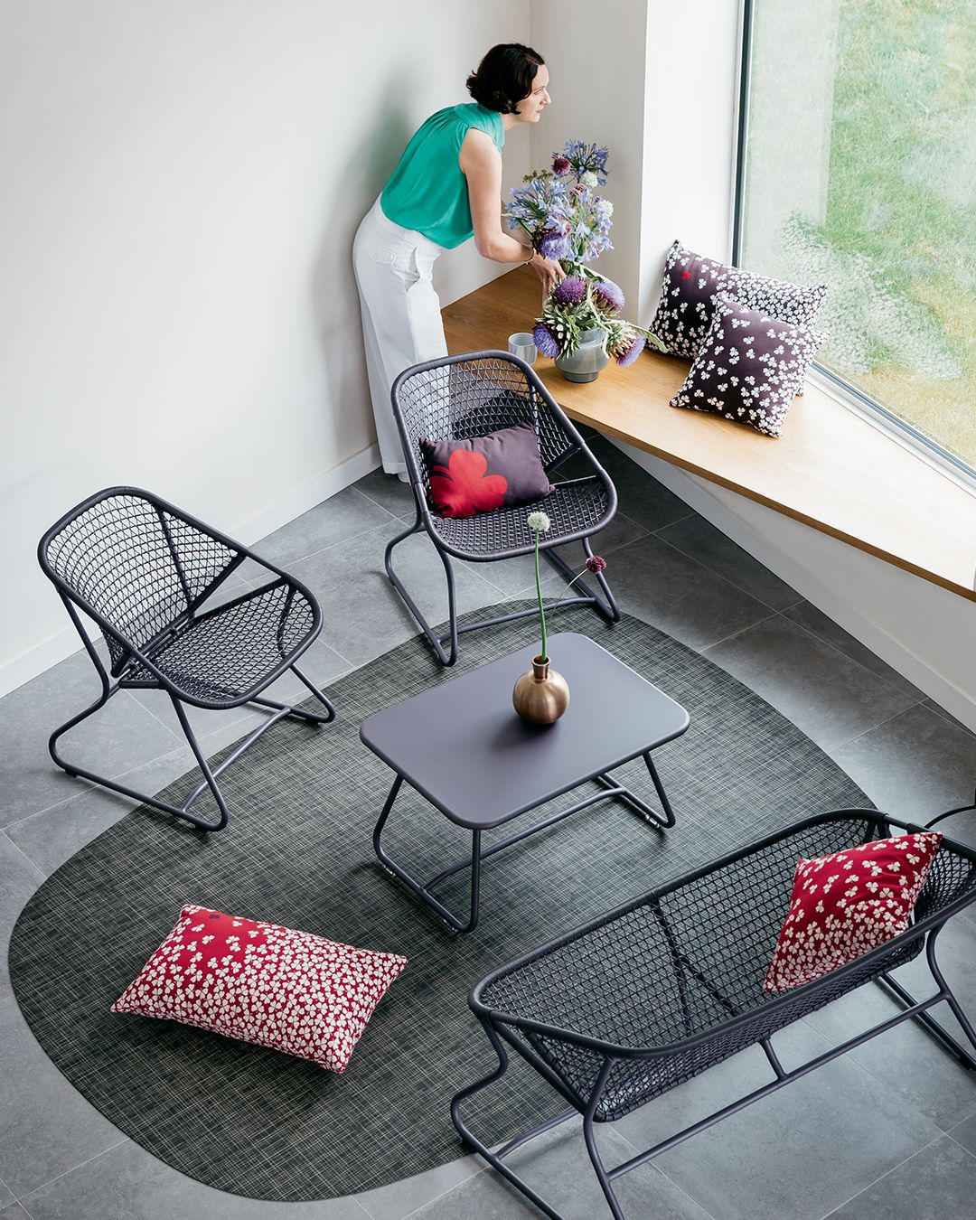 Collection Sixties - Fermob - salon de jardin in 2019 | Mobbing