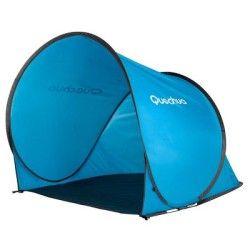 Tente Soleil Pour Plage Abri 2 Seconds 0 Bleu Tente Plage Decathlon Camping