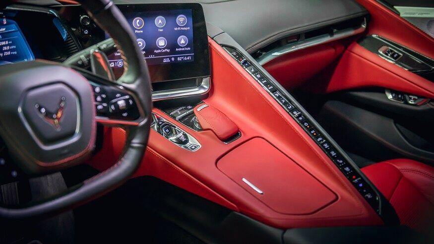 2020 Chevrolet Corvette Interior Review What S Different Inside The C8 In 2020 Chevrolet Corvette Corvette Convertible Corvette