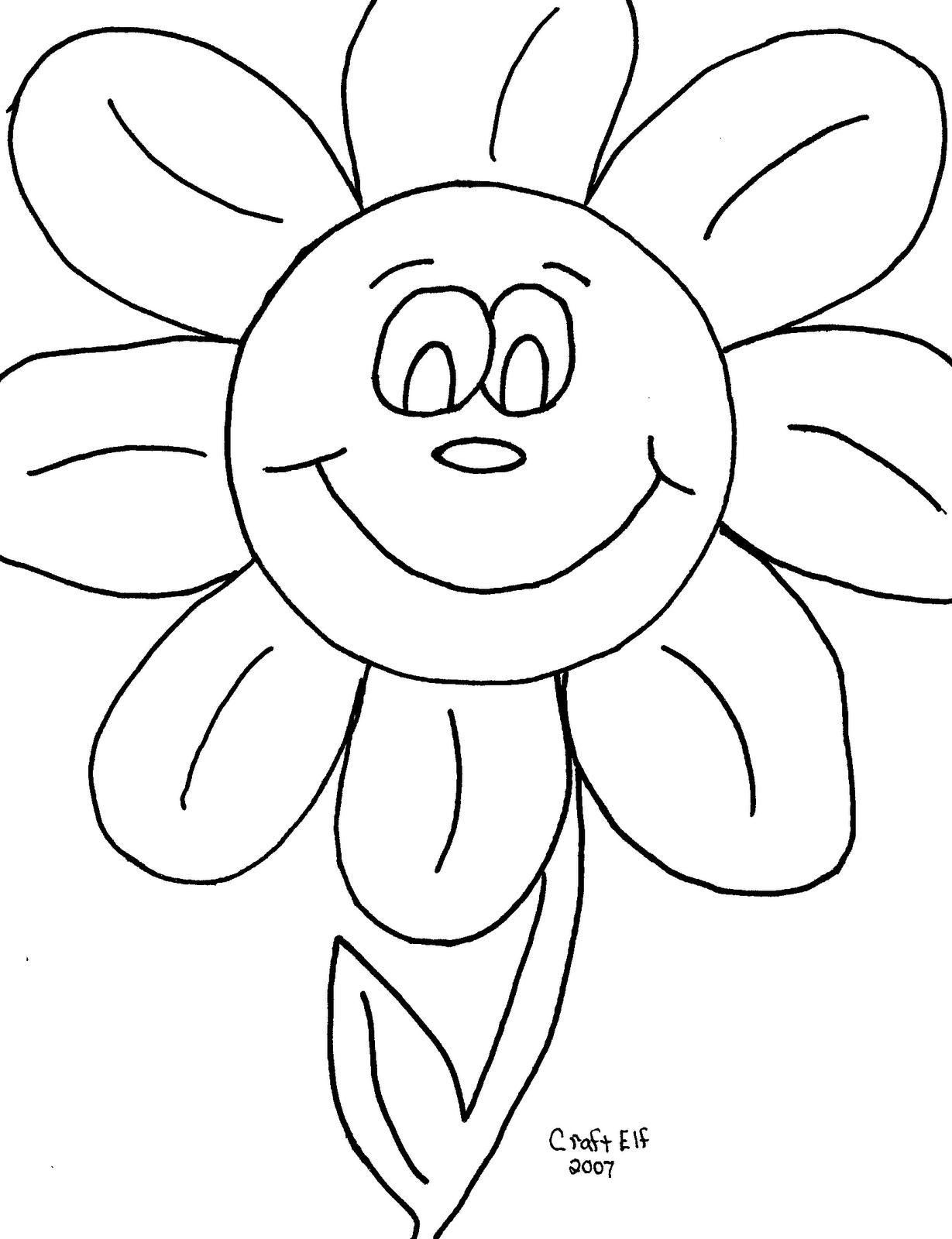 Printable Kindergarten Coloring Sheets