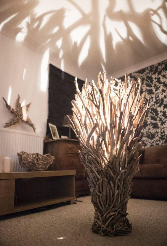 Driftwood Floor Lamp wide                                                                                                                                                                                 More