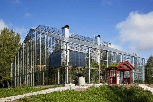 Naturhus Idees Pour La Maison En 2018 Pinterest Haus Glashaus