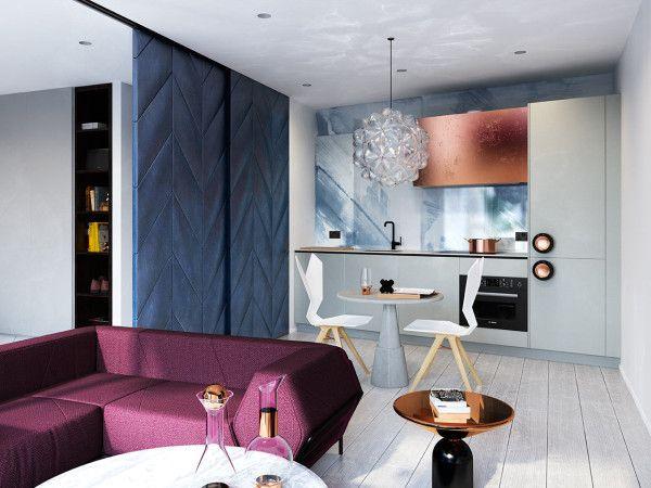 Dise o en espacios peque os interiores dormitorio for Diseno de interiores minimalista espacios pequenos