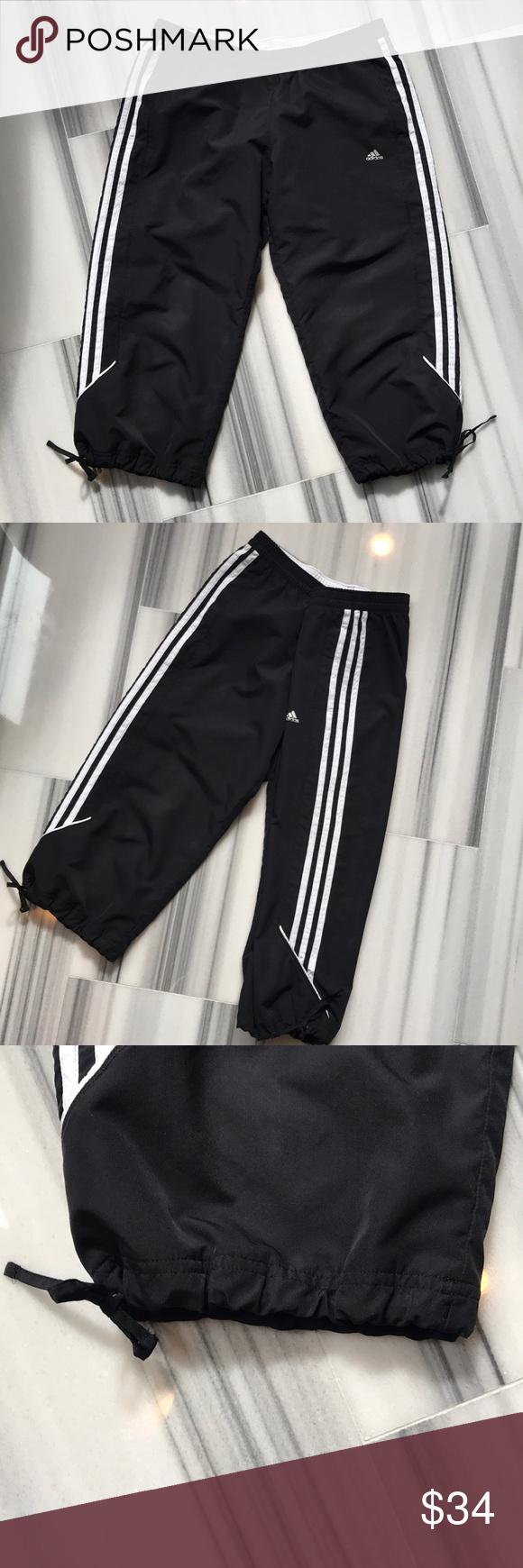 Adidas Capri track pants Size M