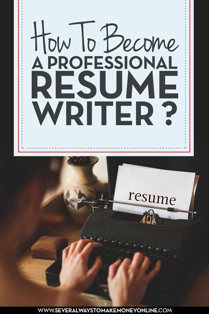 learn how to become a professional resume writer  resume writing is a skilled job and