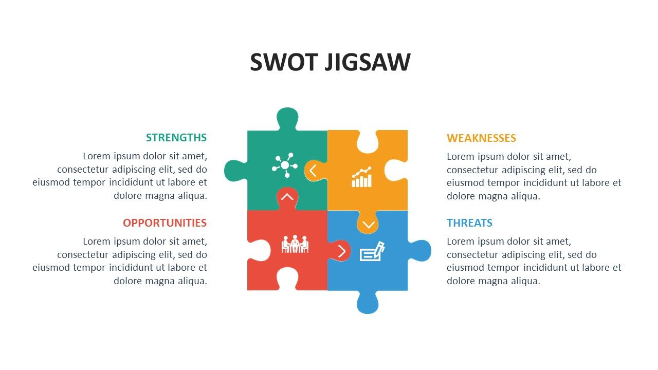 Free swot jigsaw powerpoint template you may also like modern swot free swot jigsaw powerpoint template you may also like modern swot analysis 4 step healthcare ccuart
