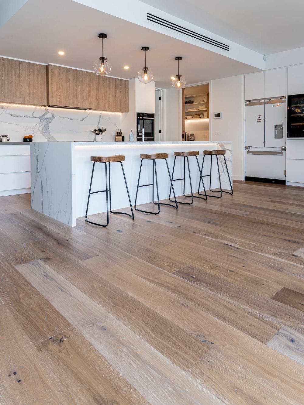 Wooden Floorboards Flooring Melbourne ...   Timber kitchen, Wooden ...