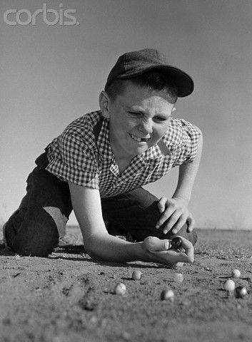 Playing Marbles At Recess Vintage Photos That I Like