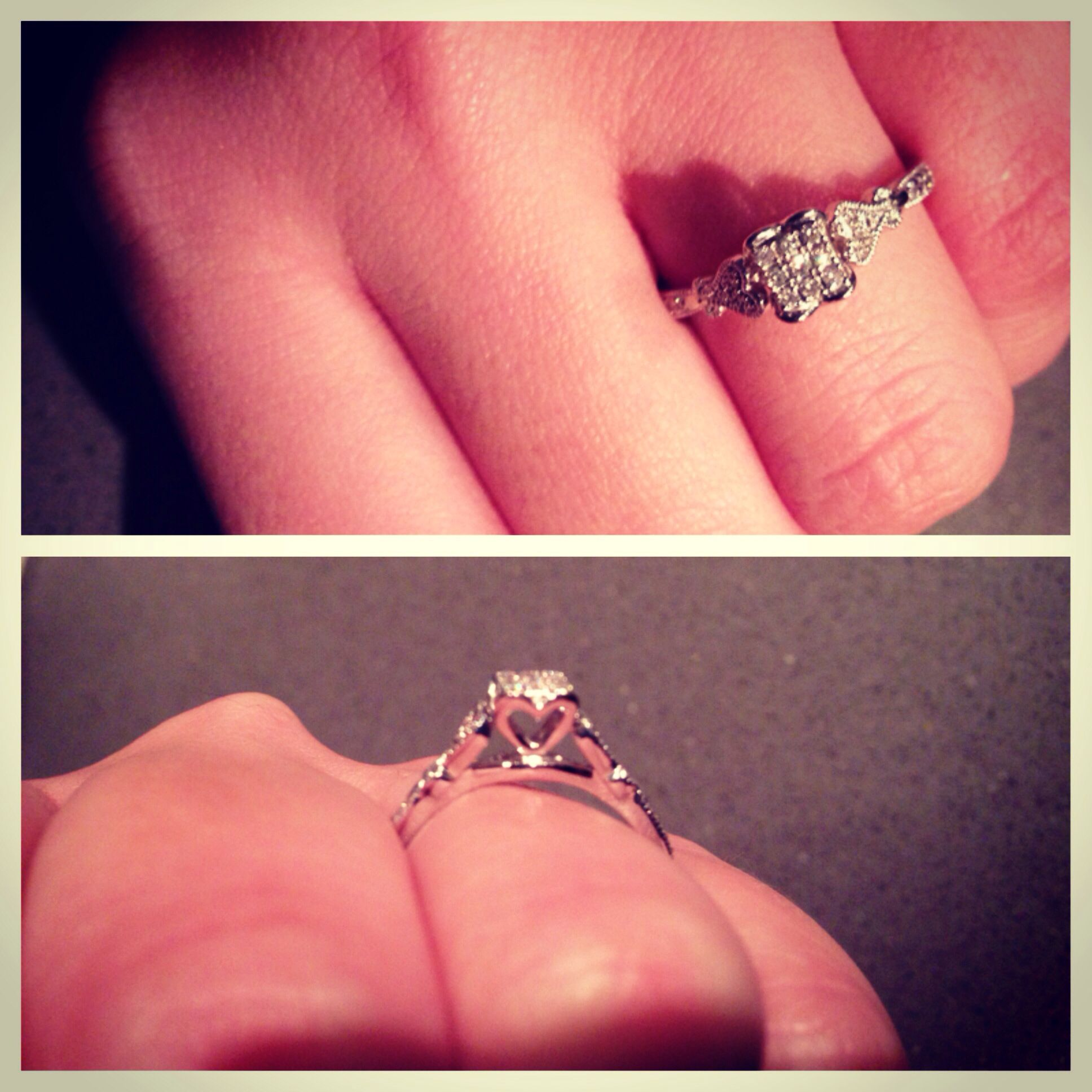 This is very similar to the ring I want, but the one I want is more ...