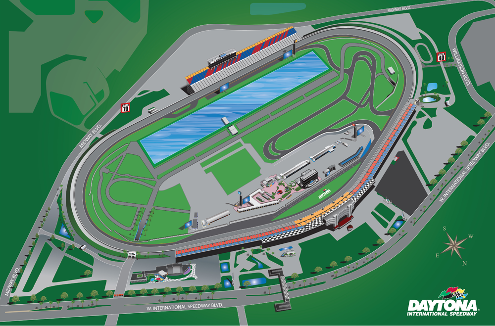 Daytona Dog Track >> Daytona International Speedway Daytona International