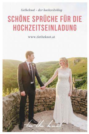 Romantische Spruche Fur Die Hochzeitseinladung Die Schonsten Zitate