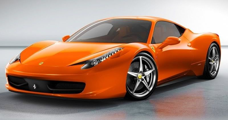 Ferrari 458 Orangethis Will Be My Car Somewhere In The Future