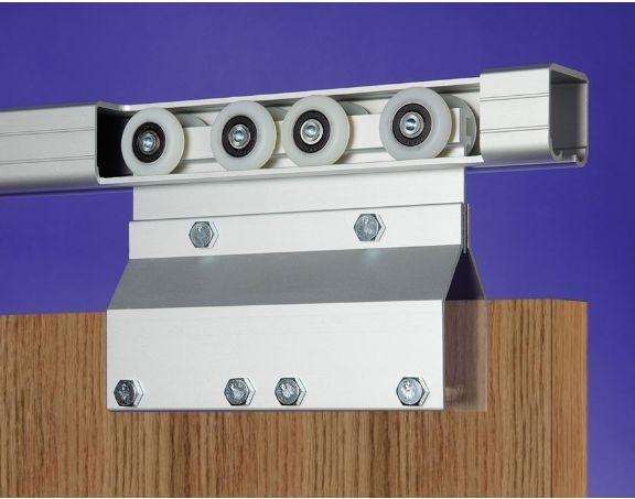 Attrayant 600lb Capacity Heavy Duty Pocket Door Hardware For 1 3/4 In. Doors