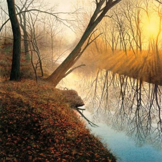 Steven Kozar Hyper Realistic Watercolor Paintings Fine Art Blogger Watercolor Landscape Landscape Watercolor Paintings