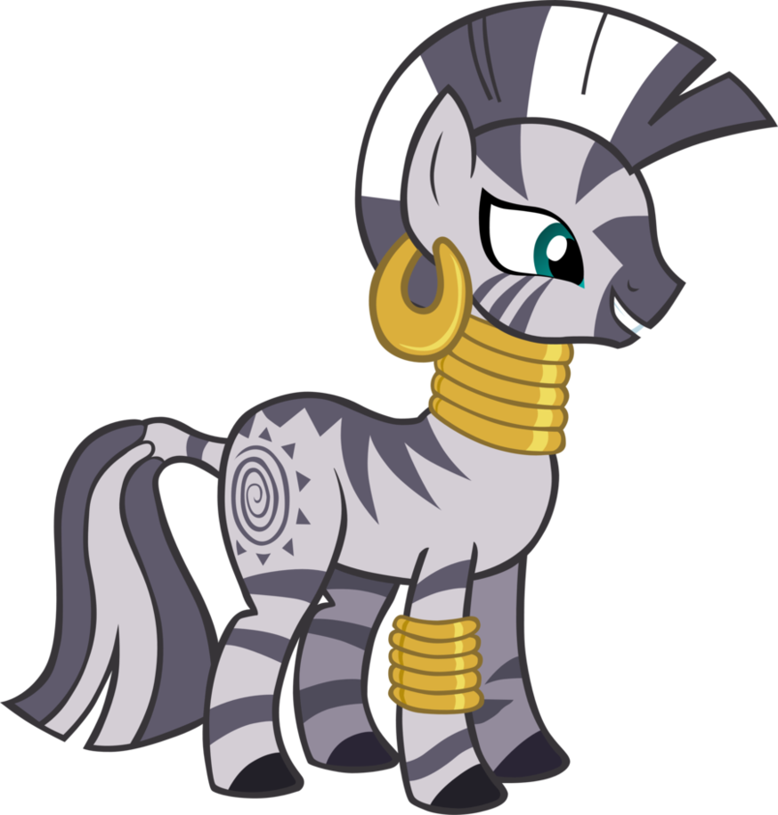 My Little Pony Zebra