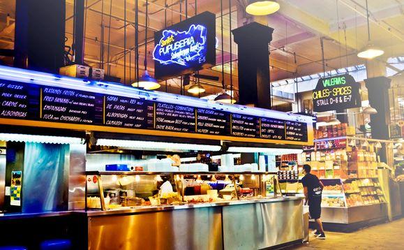 Grand Central Market Vendors Sarita S Pupuseria Central Food Central Market Eat