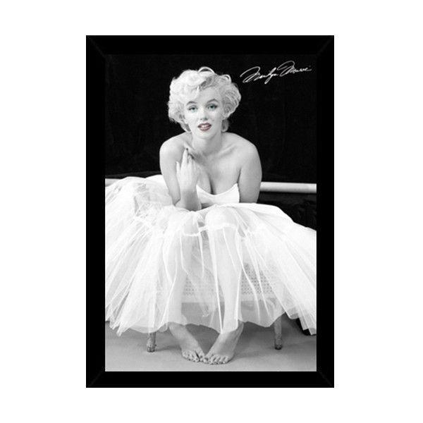 USA Marilyn Monroe Ballerina Print with Contemporary Poster Frame ...
