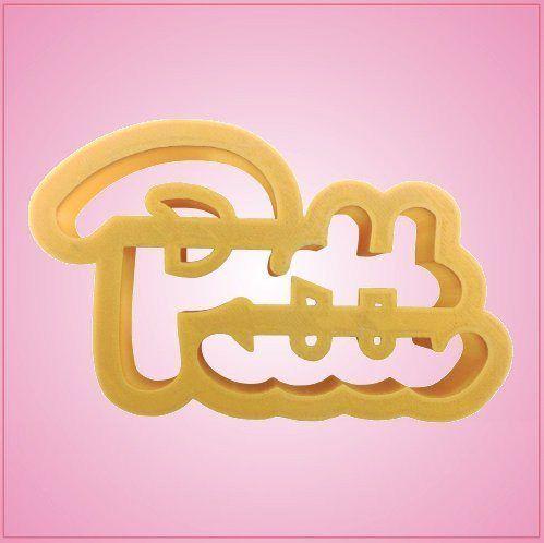 994441a35 Pitt Cookie Cutter   Pitt Panthers in 2019   Pitt panthers, Cookie ...