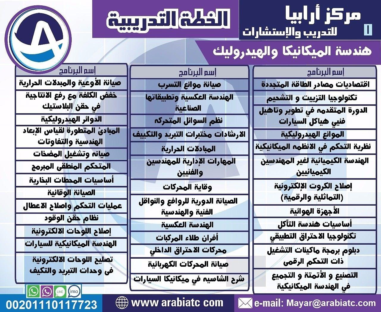 يتشرف مركز ارابيا للتدريب بتقديم اقوى البرامج التدريبية في مجال دورات هندسة الميكانيكا والهيدروليك المملكة العربية السعودية الرياض جدة مك Mobile Boarding Pass