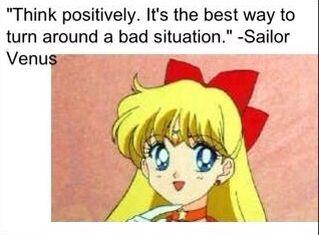 Sailor Venus Quote