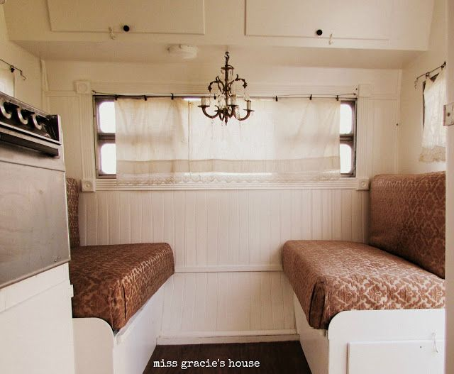 The Maiden Voyage Part Two Camper Decor Remodeled Campers