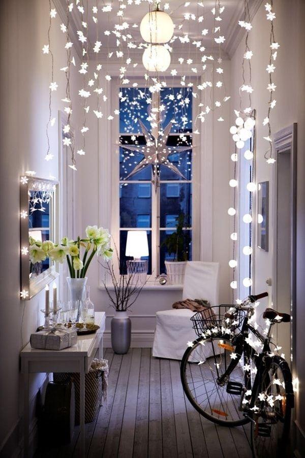 Ideas Para Decorar Recibidores Para Navidad Decoracion Navidena - Decoracion-navidea-interiores