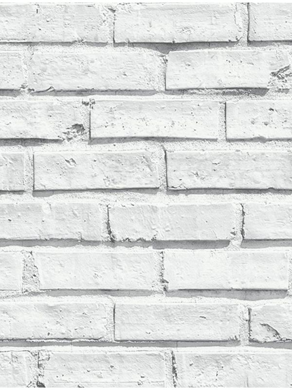 White Brick Wallpaper Arthouse 623004 Rustic Realistic Decor White Brick Wallpaper Brick Effect Wallpaper Brick Wall Wallpaper
