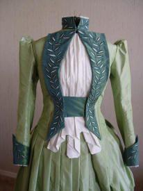 Mina's Victorian dress from Bram Stoker's Dracula created by the late Eiko Ishioka.