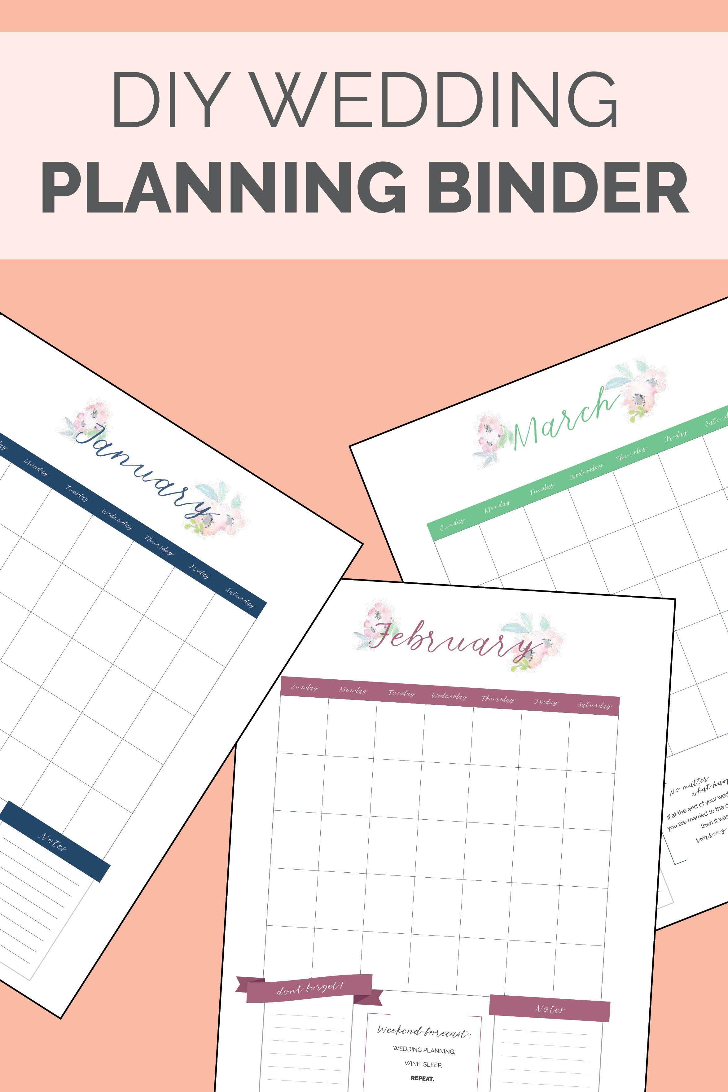 A DIY Wedding Planning Checklist to Get Your Big Day Organized  Diy