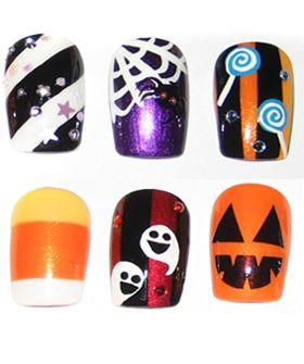 Google Image Result For Http Static2 Refinery29 Com Bin Entry 735 280x 70950 Halloween Nails Jpg Halloween Nail Designs Halloween Nail Art Nail Art Hacks