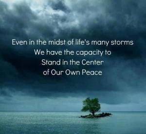 In the middle of chaos find peace... | Inner peace, Inspirational ...
