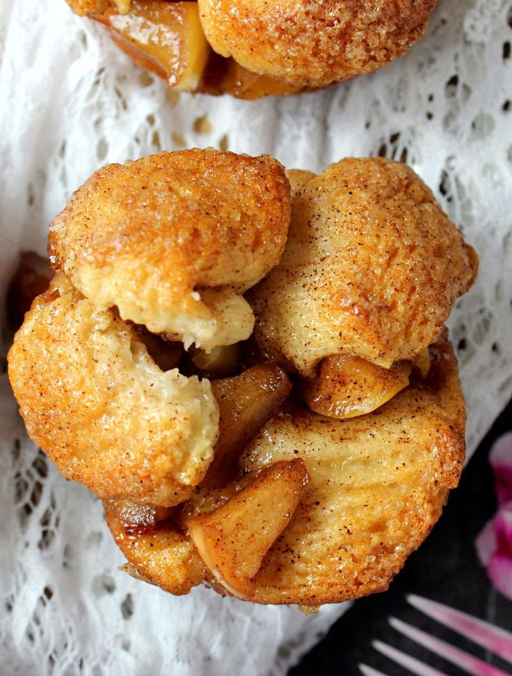 Apple Fritter Monkey Bread Muffins Apple Fritter Monkey Bread Muffins,