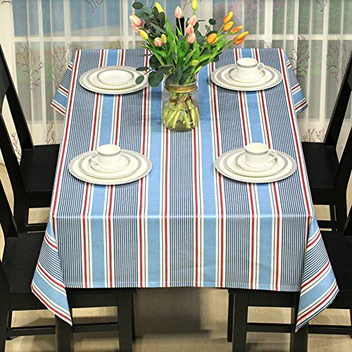 cotton linen tablecloth washable dinner picnic cloth