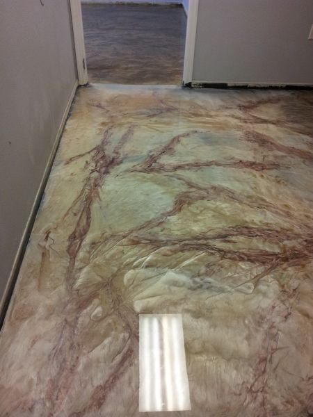 Metal Fusion Epoxy Floors For Office Orlando Fl