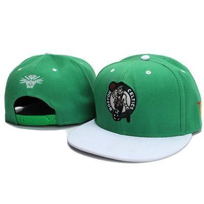 cd68c8058ec Tisa Boston Celtics Snapback Hats - Green