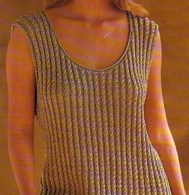 Tricot] Le débardeur à torsades | Knitting