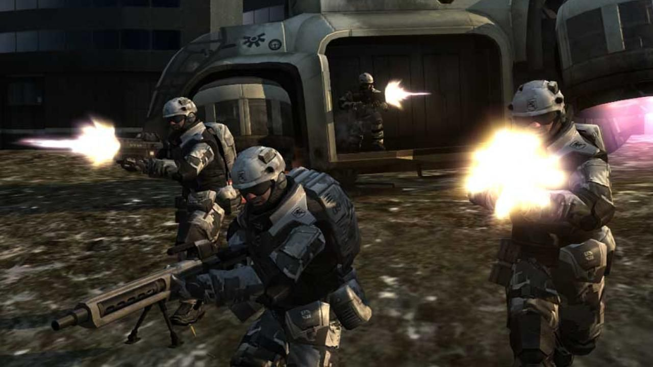 Battlefield 2142 had a lot of cool dropship action