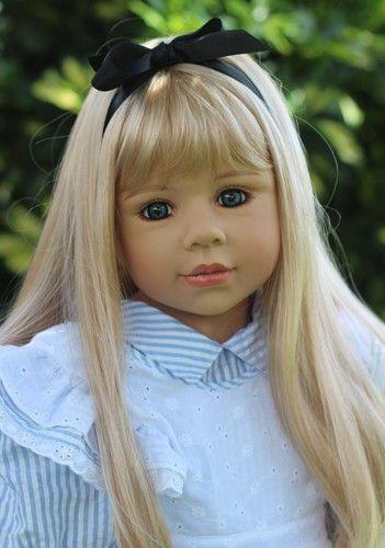 "Masterpiece Doll Alice in Wonderland by Monika Levenig Full Body Vinyl 39"" toniscollectibles.com"