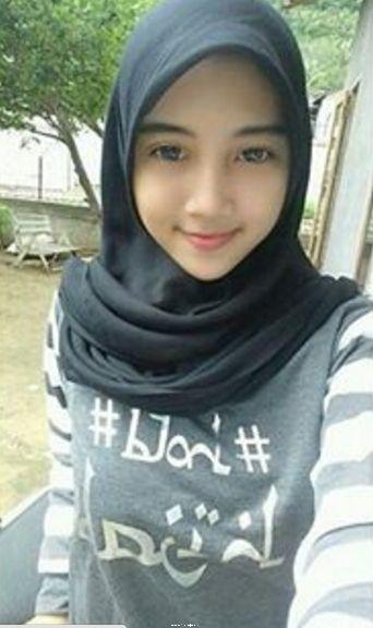 gambar wanita hijab syar i cantik tutorial hijab terbaru