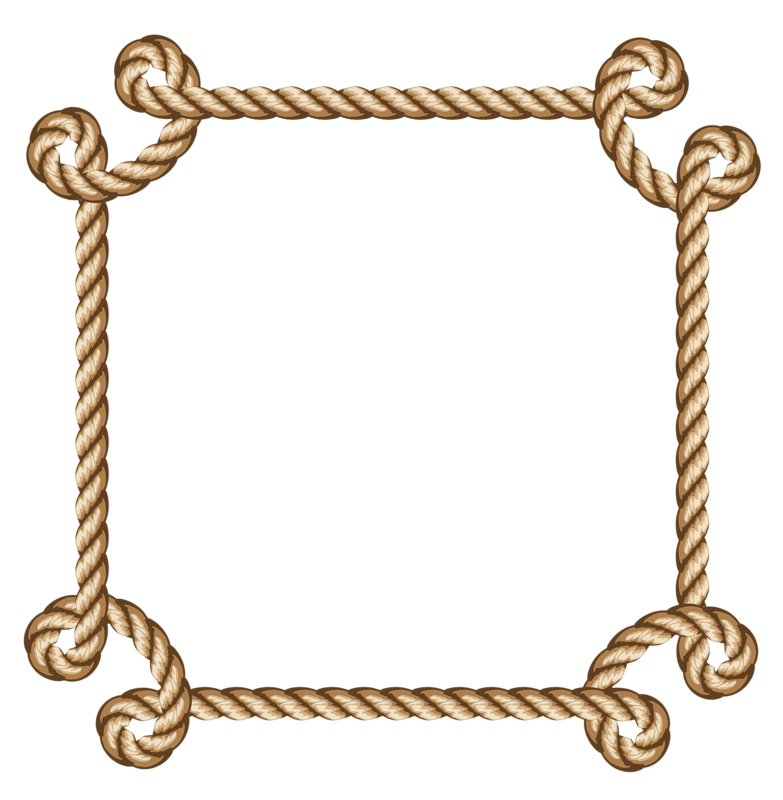 Rope 16 Png Borders And Frames Western Picture Frames Rope Design