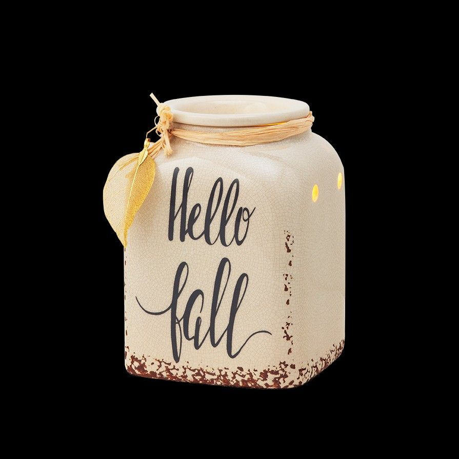 Hello Fall in 2020 Scentsy, Scentsy warmer, Scented wax