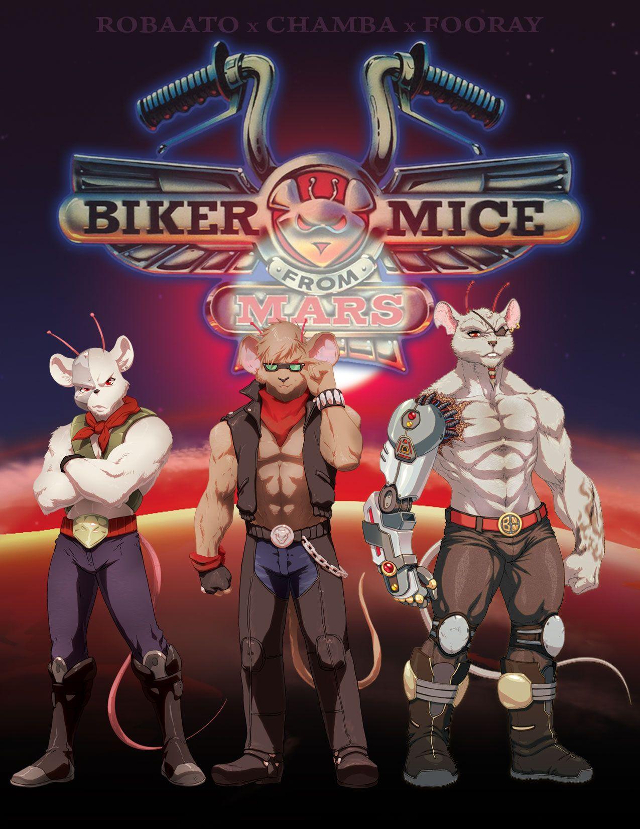 Biker Mice Dibujos Animados Clasicos Caricaturas Viejas