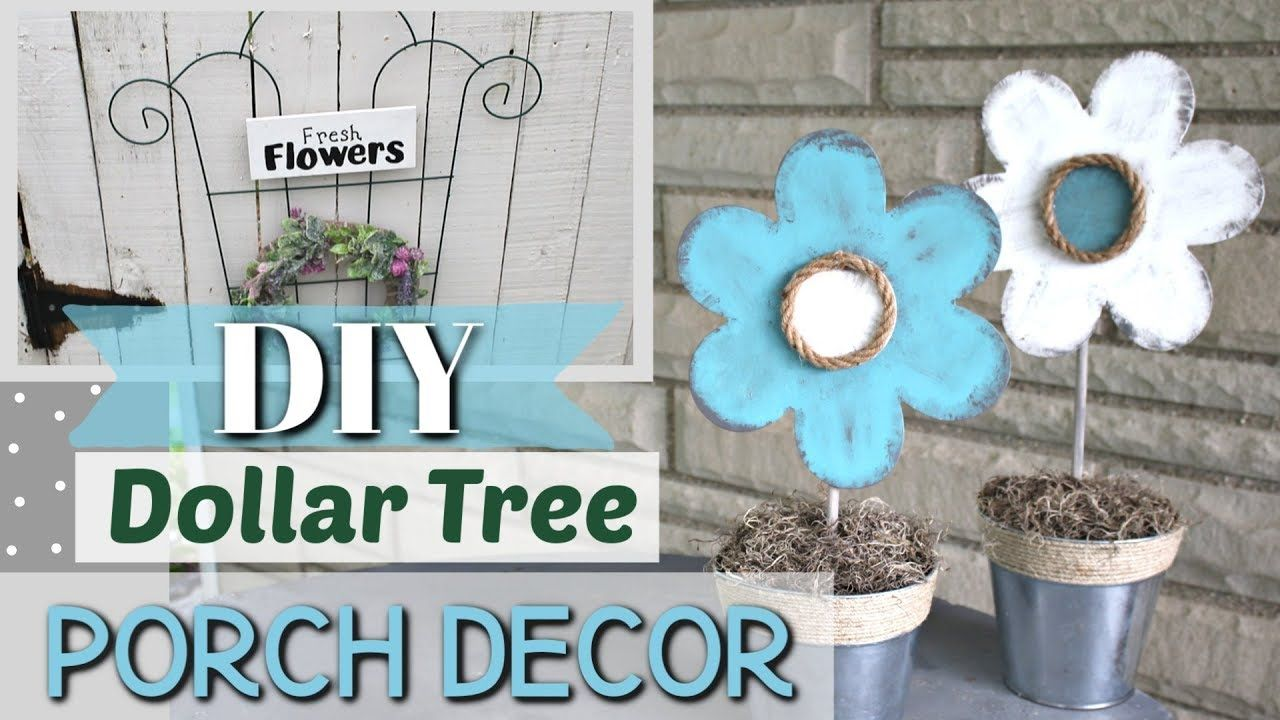 Diy Dollar Tree Porch Decor Outdoor Porch Decor Diy Krafts By