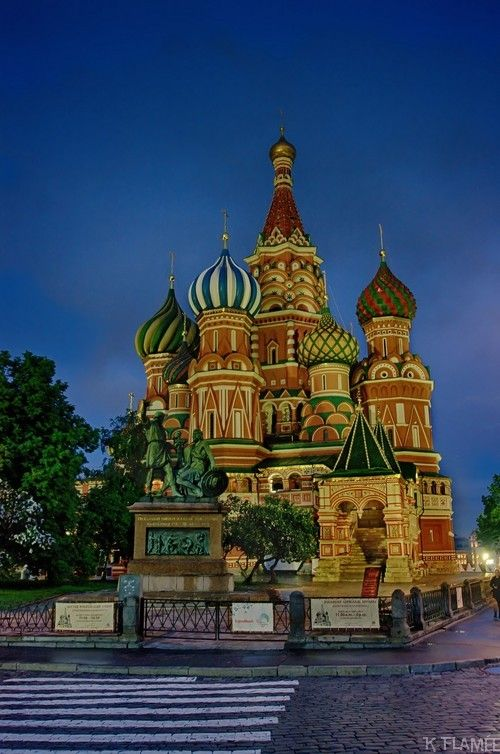 St Basil's Cathedral - Red Square - Moscow - Russia