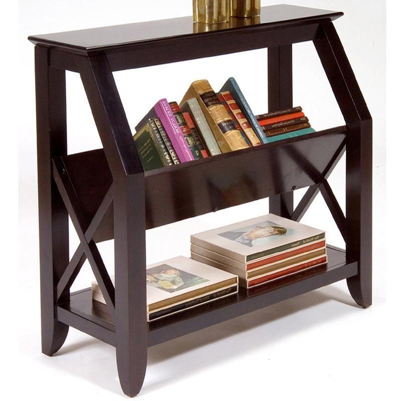 Bookshelf With Center Magazine Rack And Bottom Shelf Peoria, Pekin, Bloomington  Furniture Store