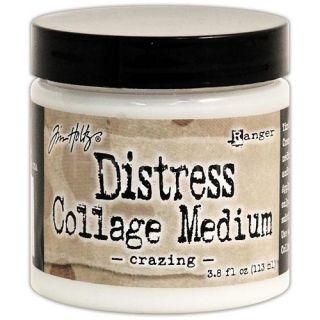 Distress Collage Medium Crazing 113 ml