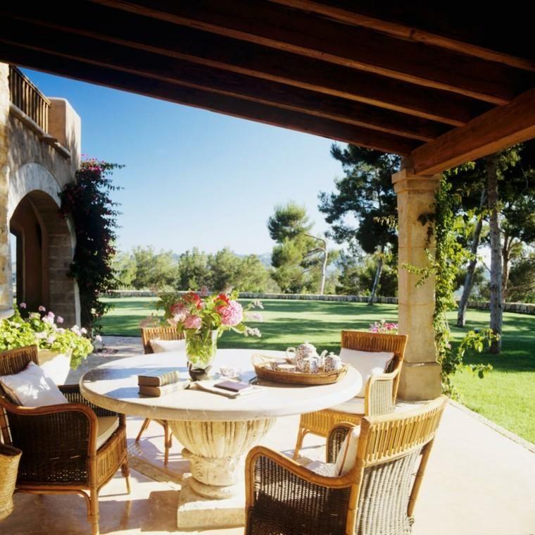 Gärten und Terrassen 75 kreative Gestaltungsideen Gartenterrasse - markisen fur balkon design ideen