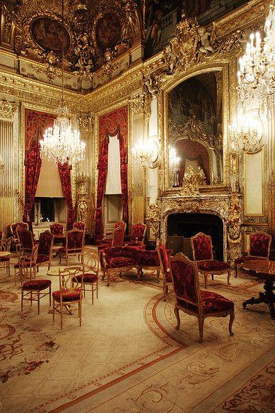 Chatsworth House Room: Versailles. Savonnerie Rug.